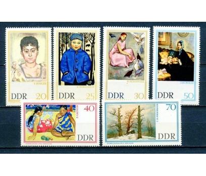 DDR ** 1967 TABLOLAR TAM SERİ SÜPER (290315)