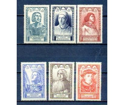 FRANSA * 1946 ÜNLÜLER TAM SERİ SÜPER (270315)