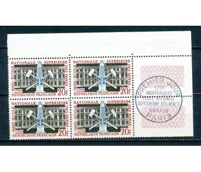 FRANSA ** 1959 BERGBAU 175.YIL DBL TAM S.(280315)