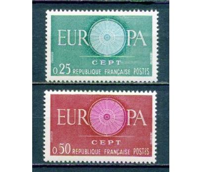FRANSA ** 1960 EUROPA CEPT TAM SERİ (220315)