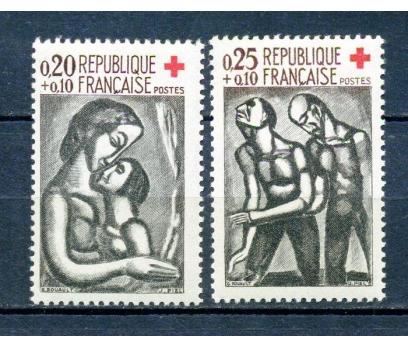 FRANSA ** 1961 CROIX ROUGE TAM SERİ (280315)