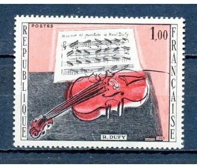 FRANSA ** 1965 TABLO & R.DUFY TAM SERİ (290315)