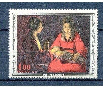 FRANSA ** 1966 TABLO TAM SERİ SÜPER (290315)