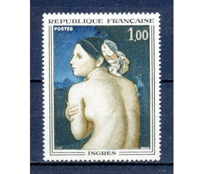 FRANSA ** 1967 TABLO & INGRES TAM SERİ (290315)