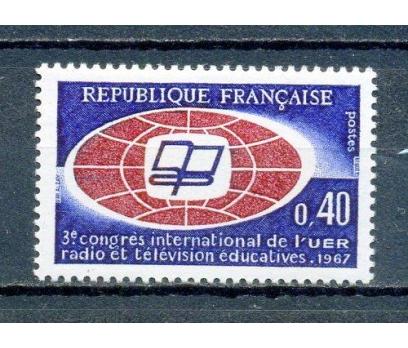FRANSA ** 1967 UER KONGRESİ TAM SERİ (280315)