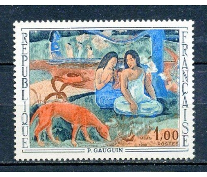FRANSA ** 1968 TABLO & GAUGUIN TAM SERİ (290315)