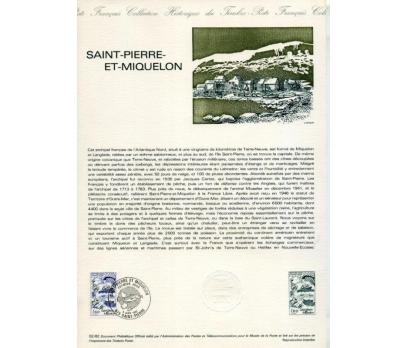 FRANSA 1982 HATIRA FÖYÜ S.P.MİQUELON SÜPER(120315)