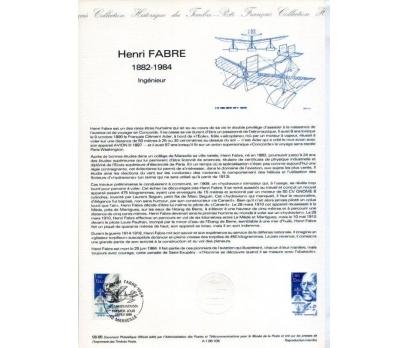 FRANSA 1986 HATIRA FÖYÜ PARİS H.MOISSAN (120315)