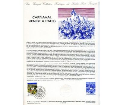 FRANSA 1986 HATIRA FÖYÜ PARİS KARNAVALI (120315)