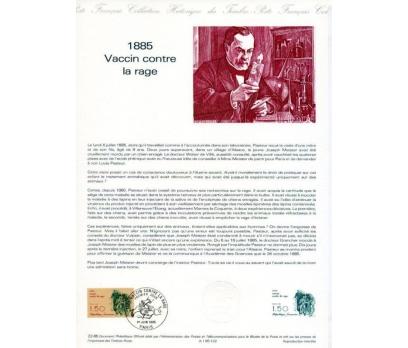 FRANSA1985 HATIRA FÖYÜ LOUIS PASTEUR SÜPER(120315)