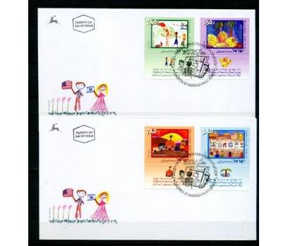 İSRAİL FDC 2006 ÇOCUK TABLOLARI TAM S.(070315)