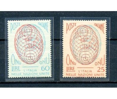 İTALYA ** 1956 B.MİLLETLER TAM SERİ (260315)