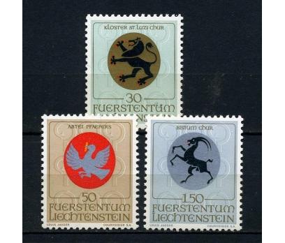 LİECHTENSTEİN ** 1969 ARMALAR TAM SERİ (200315)