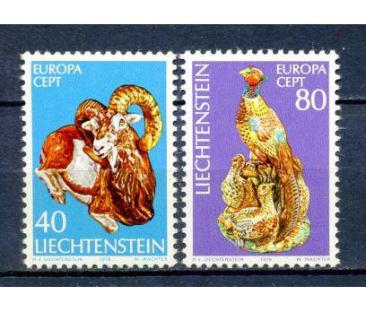 LİECHTENSTEİN ** 1976 EUROPA CEPT TAM SERİ(240315)