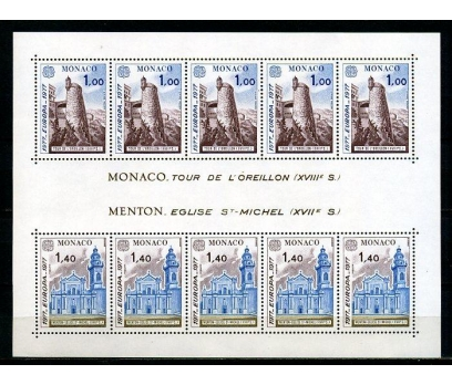 MONAKO ** 1977 EUROPA CEPT KLEİNBOGEN (250315)