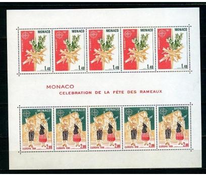 MONAKO ** 1981 EUROPA CEPT KLEİNBOGEN (260315)