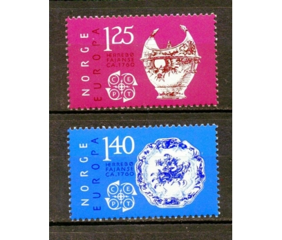 NORVEÇ ** 1976 EUROPA CEPT TAM SERİ(250315)