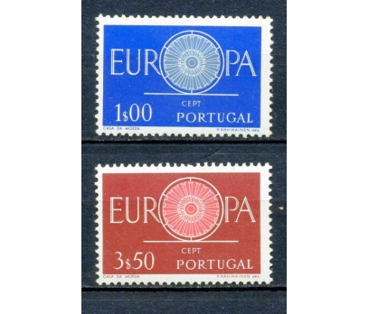 PORTEKİZ ** 1960 EUROPA CEPT TAM SERİ (220315)