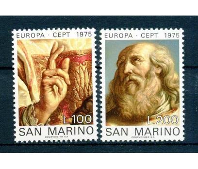 SAN MARİNO ** 1975 EUROPA CEPT TAM SERİ(240315)
