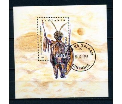 TANZANYA 1993 DAMGALI KIYAFET BLOK SÜPER (030315)