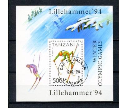 TANZANYA 1994 DAMGALI KAYAK BLOK SÜPER (030315)