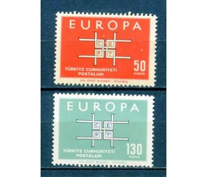 TÜRKİYE ** 1963 EUROPA CEPT TAM SERİ (230315)