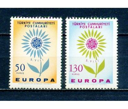TÜRKİYE ** 1964 EUROPA CEPT TAM SERİ (230315)