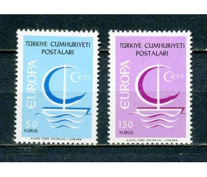 TÜRKİYE ** 1966 EUROPA CEPT TAM SERİ (230315)