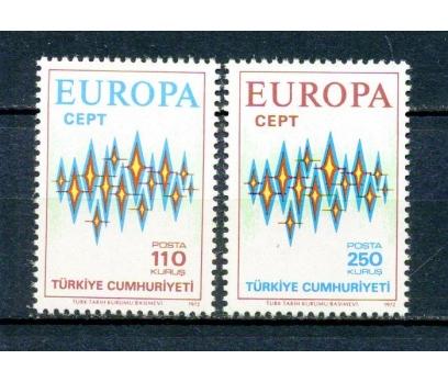 TÜRKİYE ** 1972 EUROPA CEPT TAM SERİ (230315)