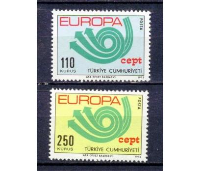 TÜRKİYE ** 1973 EUROPA CEPT TAM SERİ (230315)