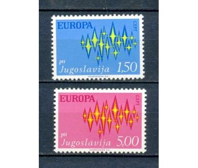 YUGOSLAVYA ** 1972 EUROPA CEPT TAM SERİ (230315)