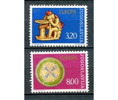 YUGOSLAVYA ** 1976 EUROPA CEPT TAM SERİ(250315)