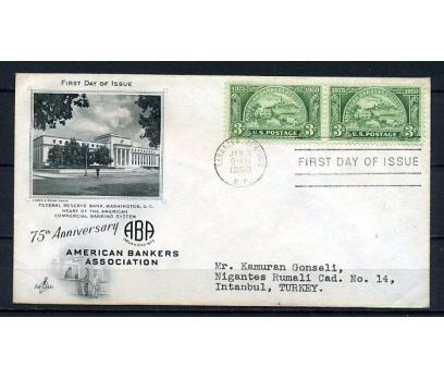 ABD 1950 FDC AMERİKAN BANKERLER B. SÜPER (090415)