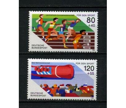 ALMANYA ** 1986 SPOR ARTILI TAM SERİ (010515)