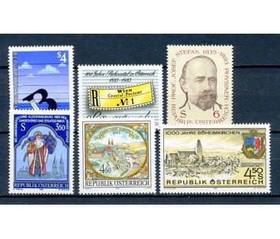 AVUSTURYA ** 1985  6 TAM SERİ SÜPER (310315)