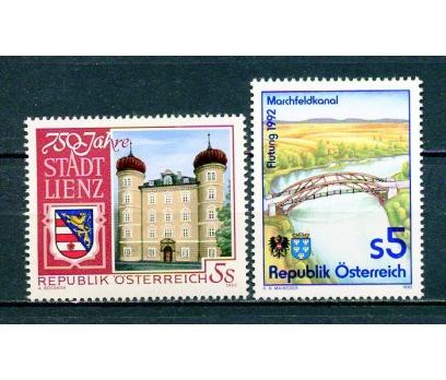 AVUSTURYA ** 1992   2 TAM SERİ SÜPER (310315)