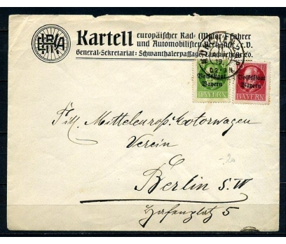 BAYERN 1919 ANTETLİ KLASİK P.G.Z. (090415)