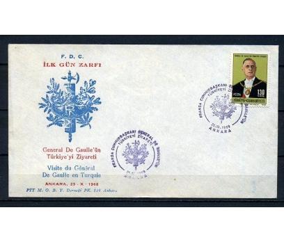 CUMH.FDC 1968 DE GAULLE SÜPER (230415)