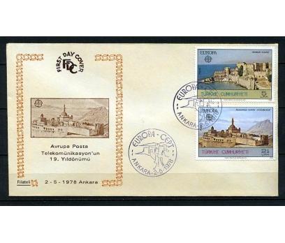 CUMH.FDC 1978 EUROPA CEPT FİLATELİ (230415)