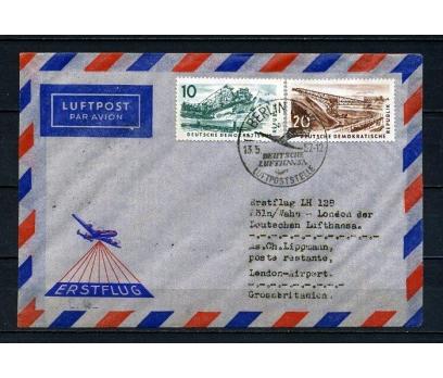 DDR 1957 UÇAK ÖZEL DAMGA TAAHHÜTLÜ SÜPER (090415)