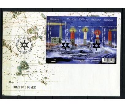 FİNLANDİYA 2003 DENİZ FENERLERİ FDC SÜPER (260415)