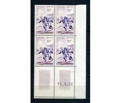 FRANSA ** 1956 RUGBY 3. VALÖR DBL (050415)