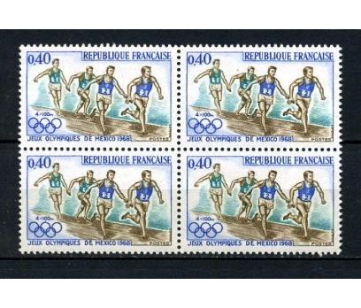 FRANSA ** 1968 OLİMPİYAT DBL TAM S. SÜPER (040415)