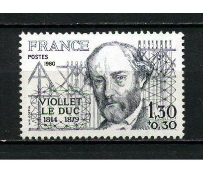 FRANSA ** 1980 E.VİOLLET-LE-DUC TAM SERİ (040415)