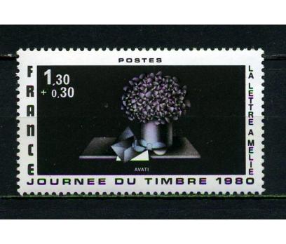 FRANSA ** 1980 PUL GÜNÜ TAM SERİ SÜPER (040415)