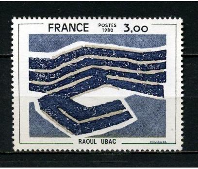 FRANSA ** 1980 TABLO & RAOUL UBAC TAM SERİ(040415)