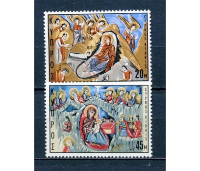 GÜNEY  KIBRIS ** 1969  CHRISTMAS TAM SERİ (310315)