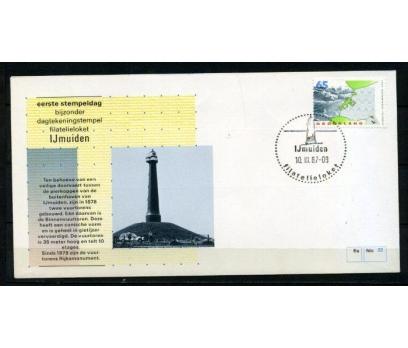 HOLLANDA 1987 DENİZ FENERLERİ FDC SÜPER (260415)