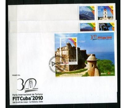 KÜBA 2010 DENİZ FENERLERİ 3 FDC SÜPER(270415)