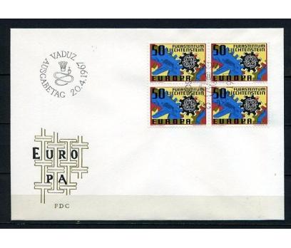 LİECHTENSTEİN 1967 EUROPA CEPT DBL FDC  (240415)